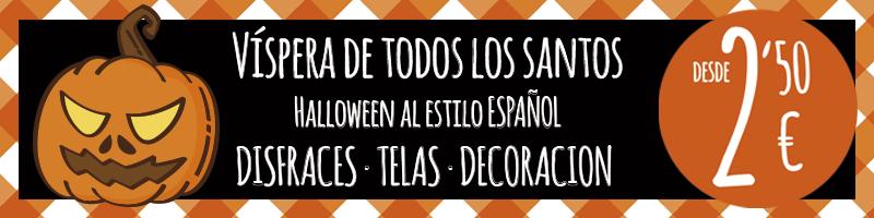 Telas para halloween disfraces