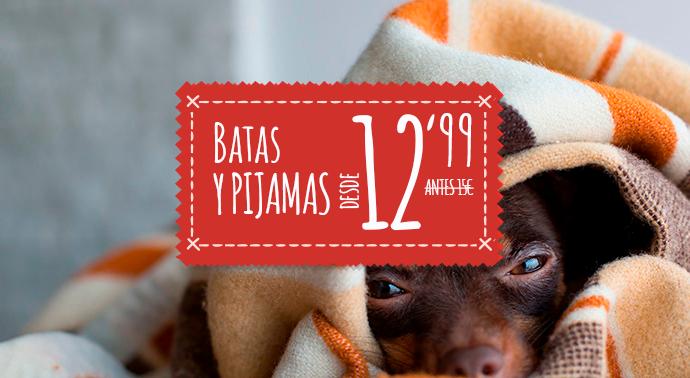 Batas y pijamas baratos